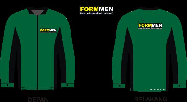 Contoh Desain jaket Organisasi