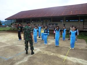 Mengajar PBB siswa SMA