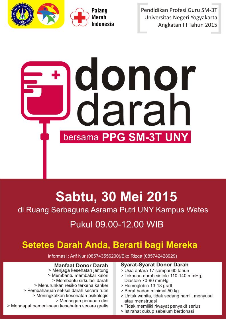 Contoh Poster Derma Darah - Pomegranate Pie