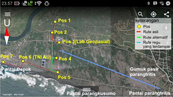 Rute outdoor activity PPG SM3T UNY