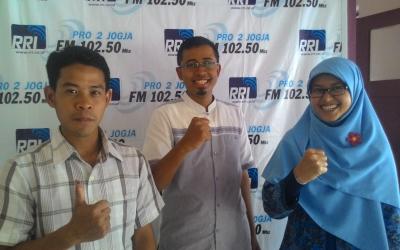 Berbagi Pengalaman Mengajar di daerah 3T Bersama RRI Yogyakarta